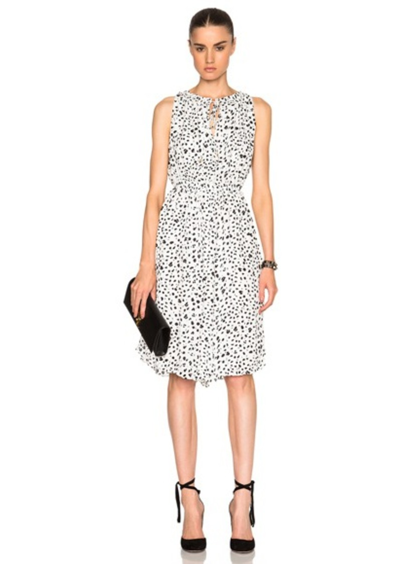 DEREK LAM 10 CROSBY Gathered Dress