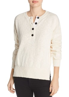 Derek Lam 10 Crosby Henley Sweater