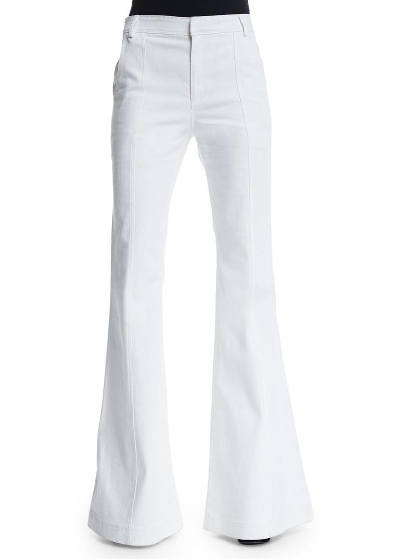 Derek Lam 10 Crosby High-Waist Flare Jeans