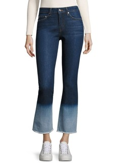 Derek Lam 10 Crosby Jane Flip Flop Flare Jeans