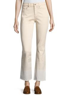 Derek Lam 10 Crosby Jane Mid-Rise Flare Jeans