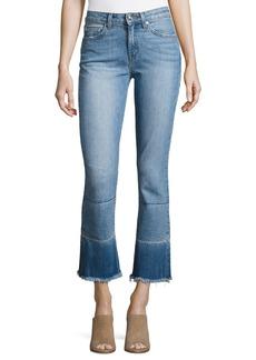 Derek Lam 10 Crosby Jane Mid-Rise Flare-Leg Jeans
