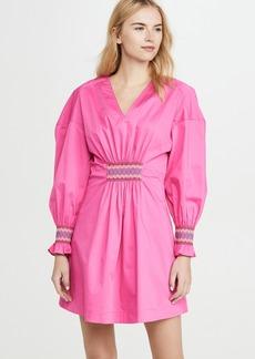 Derek Lam 10 Crosby Katerina Dress with Smocking Detail