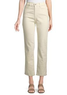 Derek Lam Leah High-Rise Straight Jeans
