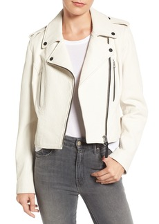 Derek Lam 10 Crosby Leather Moto Jacket