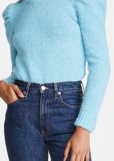Derek Lam 10 Crosby Locken Puff Sleeve Sweater