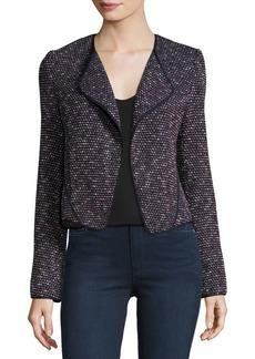 Derek Lam Long-Sleeve Tweed Cardigan Jacket