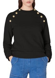 Derek Lam 10 Crosby Lucie Sailor Button Sweatshirt