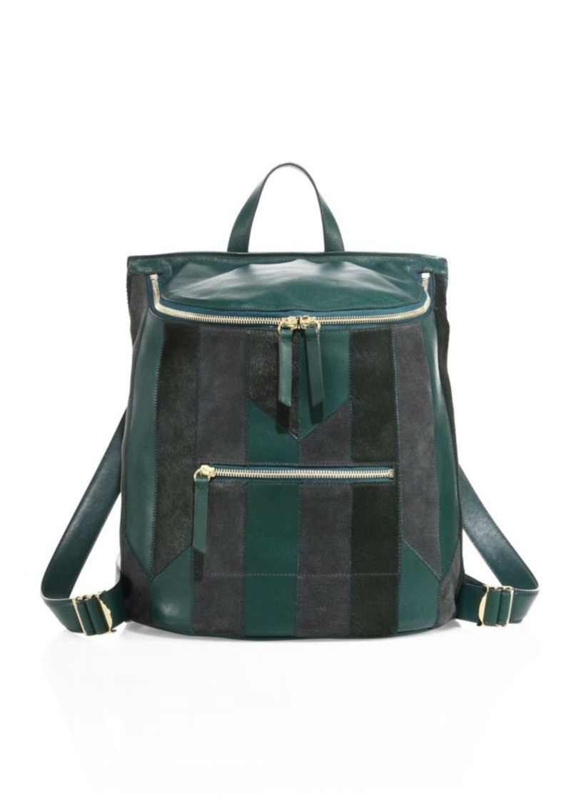 Derek Lam 10 Crosby Mercer Patchwork Mini Backpack