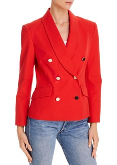 Derek Lam 10 Crosby Myra Double-Breasted Shawl Collar Blazer