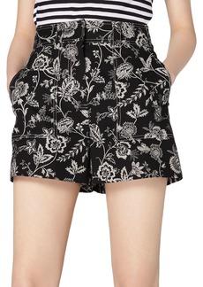 Derek Lam 10 Crosby Odette Printed Shorts