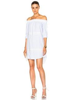 DEREK LAM 10 CROSBY Off The Shoulder Bell Sleeve Dress