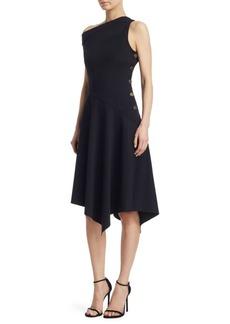 Derek Lam One-Shoulder Midi Dress