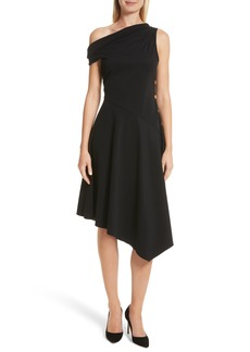 Derek Lam 10 Crosby One-Shoulder Midi Dress
