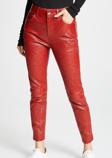 Derek Lam 10 Crosby Patent Leather Lou Pants