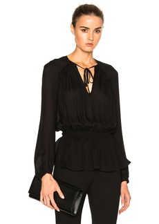 DEREK LAM 10 CROSBY Peplum Top