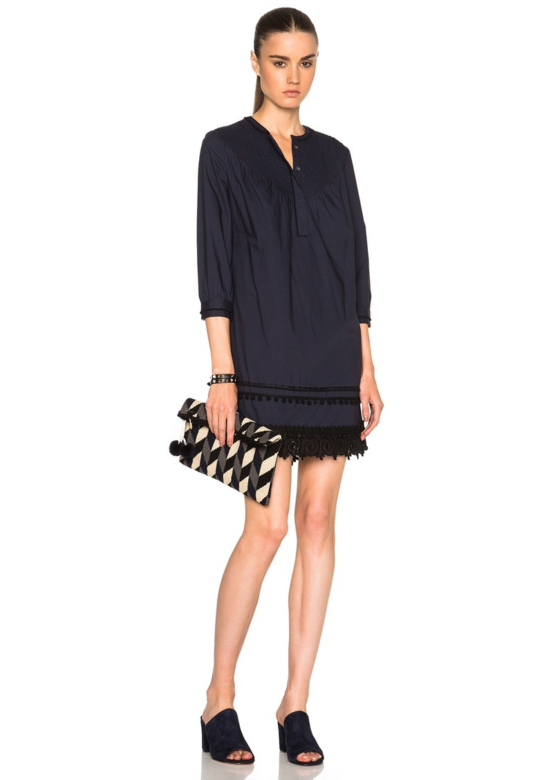 DEREK LAM 10 CROSBY Pintuck Dress