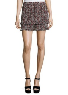 Derek Lam 10 Crosby Pleated Convertible Chiffon Cami/Skirt