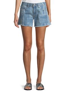 Derek Lam Quinn Long Girlfriend Denim Shorts