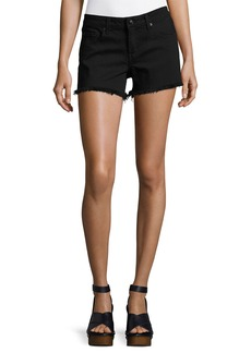 Derek Lam 10 Crosby Quinn Mid-Rise Girlfriend Cutoff Shorts