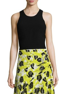 Derek Lam Roundneck Crop Top