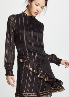 Derek Lam 10 Crosby Ruffle Collar Dress