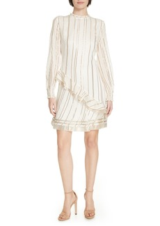 Derek Lam 10 Crosby Ruffle Collar Dress