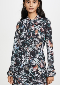 Derek Lam 10 Crosby Ruffle Hem Dress