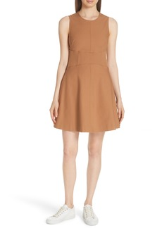 Derek Lam 10 Crosby Sleeveless Fit & Flare Dress