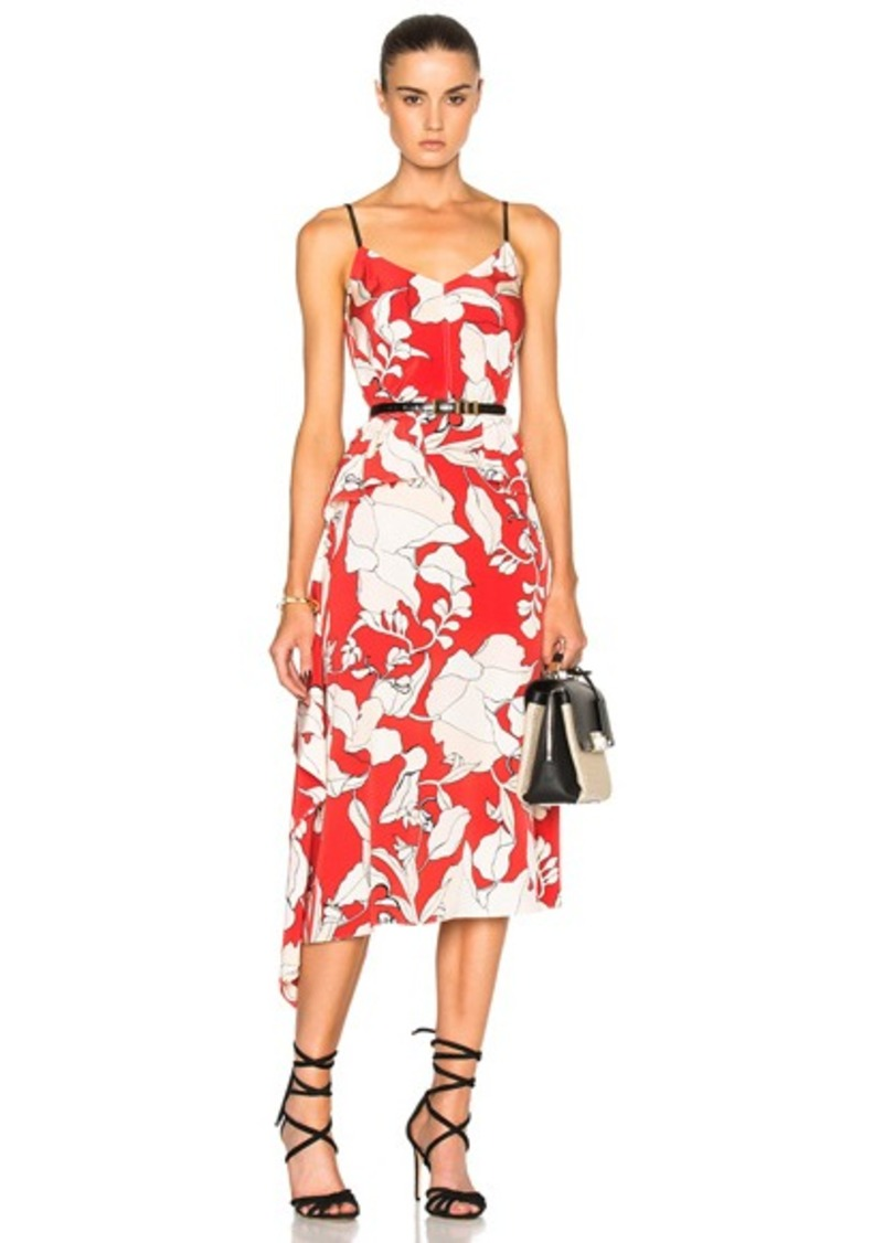 DEREK LAM 10 CROSBY Sleeveless Peplum Dress