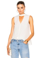 DEREK LAM 10 CROSBY Sleeveless Top