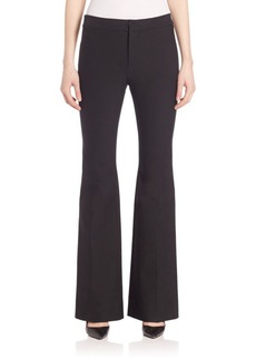 Derek Lam Solid Flare Trousers