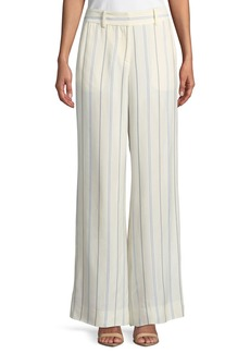 Derek Lam Striped Wide-Leg Pants