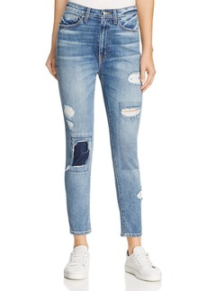 Derek Lam 10 Crosby Tali High-Rise Authentic Skinny Jeans in Medium Wash