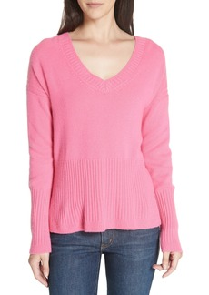 Derek Lam 10 Crosby V-Neck Cashmere Sweater