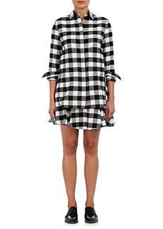 Derek Lam 10 Crosby Women's Checked Flannel Shirtdress