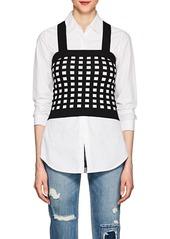 Derek Lam 10 Crosby Women's Compact Knit Crop Top