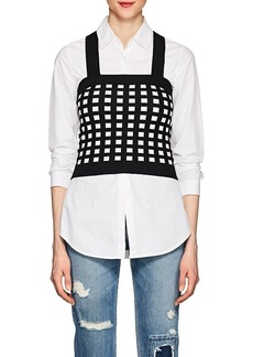 Derek Lam 10 Crosby Women's Compact Knit Crop Top