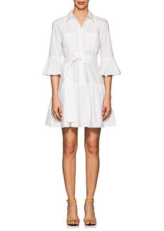 Derek Lam 10 Crosby Women's Cotton Poplin Peplum Dress