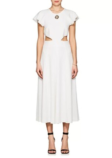 Derek Lam 10 Crosby Women's Crepe Midi-Dress