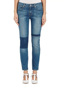 Derek Lam 10 Crosby Women's Devi Patch Skinny Jeans