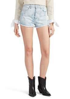 Derek Lam 10 Crosby Women's Drew High-Rise Denim Cutoff Shorts
