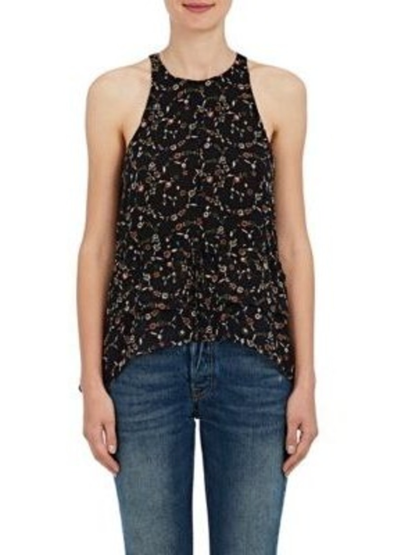 Womens Floral Silk Crepe Blouse Derek Lam Sale Looking For Quality From China Wholesale Discount Shop hwnP3