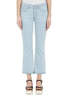 Derek Lam 10 Crosby Women's Gia Crop Flared Jeans
