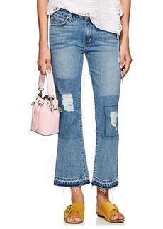 Derek Lam 10 Crosby Women's Gia Crop Flared Jeans
