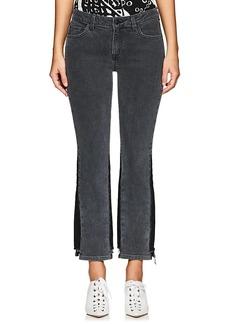 Derek Lam 10 Crosby Women's Gia Stretch Flared Crop Jeans