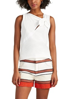 Derek Lam 10 Crosby Women's Knot-Detail Cotton Tank