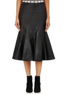 Derek Lam 10 Crosby Women's Leather Flared Skirt