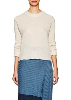 Derek Lam 10 Crosby Women's Linen-Cashmere Open-Back Sweater