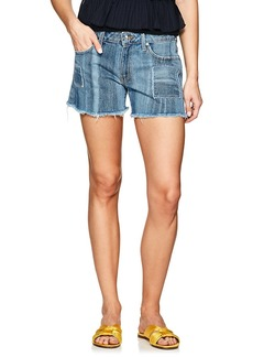 Derek Lam 10 Crosby Women's Liv Girlfriend Denim Shorts